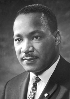Photo of Martin Luther King, Jr. By Nobel Foundation (http://nobelprize.org/) [Public domain], via Wikimedia Commons