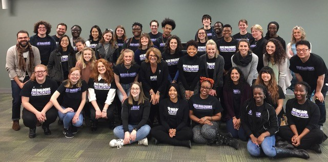 Image of MSU Dialogues facilitators for the 2017-18 academic year